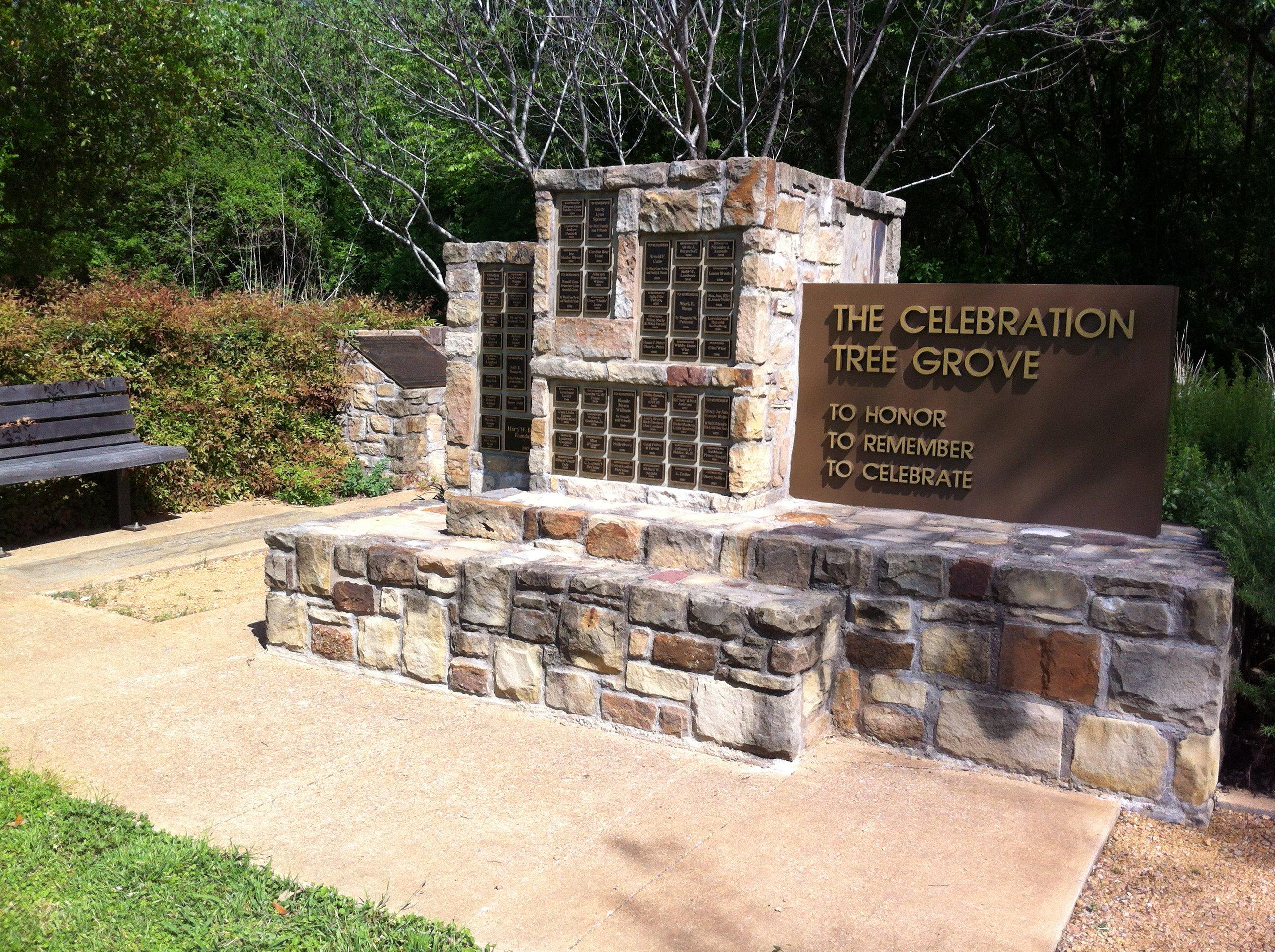 Celebration Tree Grove White Rock Lake Reforesting East Dallas