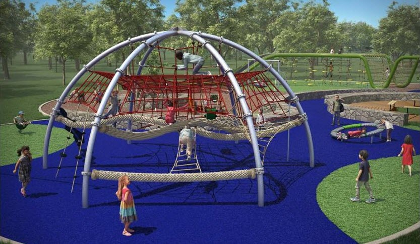 The Playground at Flag Pole Hill Update!
